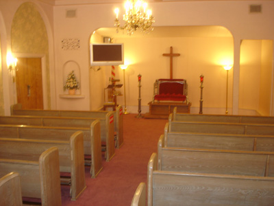 Second Chapel (est. seating 100)